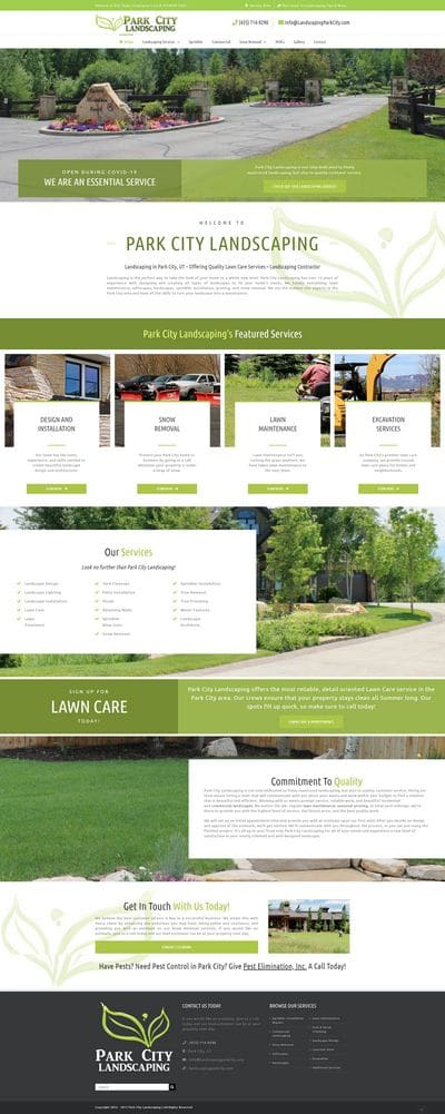 Landscaping Park City