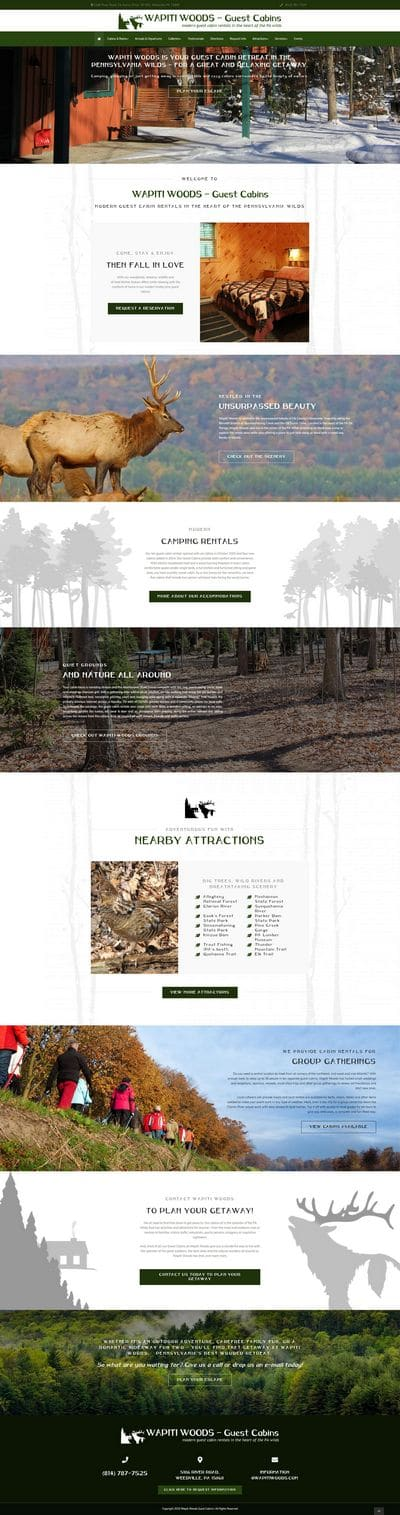 Wapiti Woods Guest Cabins